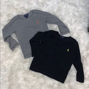 Two Polo long sleeves